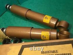 Rear shock absorbers SPAX adjustable telescopic 164/205 Reliant regal supervan 3