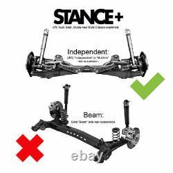 Stance+ Street Coilover Kit Golf Mk 7 (5G) 1.0, 1.2TSi, 1.4TSi