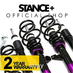 Stance+ Street Coilovers Audi A3 1.2 1.4 1.6 1.8 2.0 T FSI TSI 2WD 8P1 2003-2012