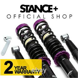 Stance+ Street Coilovers Peugeot 206 Hatchback 1.1 1.4 1.6 1.9D HDI (1998-2010)