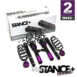 Stance+ Street Coilovers Suspension Kit Audi A3 8P1 Hatch 2WD (Petrol Engines)