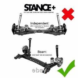 Stance+ Street Coilovers Suspension Kit Seat Leon Mk3 2.0 Cupra R TSi TDi Solid