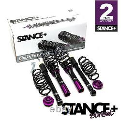 Stance+ Street Coilovers Suspension Kit VW Golf Mk7 1.0-1.4 TSi GTE Solid Beam