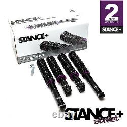 Stance+ Street Coilovers Suspension Kit VW Jetta Mk2 (All Engines)