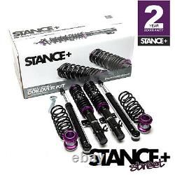 Stance+ Street Coilovers Suspension Kit VW UP! 1.0 T GTi (2011-)
