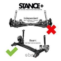 Stance+ Street Coilovers VW Golf Mk7 1.0TSi 1.2TSi 1.4TSi 1.5TSi 1.6TDi 2013-20