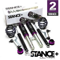 Stance+ Ultra Coilovers Suspension Kit BMW 3 Series E46 Compact 323,325,318,320
