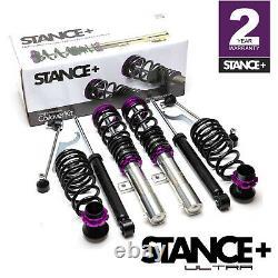 Stance+ Ultra Coilovers Suspension Kit VW Touran 1.6TDi, 1.9TDi, 2.0TDi, 2.0TDi